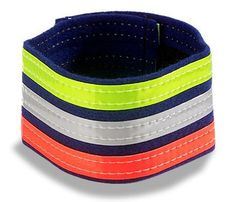Best Gear for Nighttime Runs: Nathan Tri-Color Ankle Band, $7. #SelfMagazine
