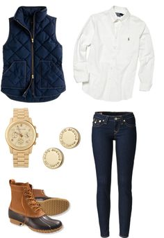 """{36}"" by yepthatsprep ❤ liked on Polyvore....outfit for the barn? I think yes."