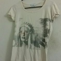 Cotton On Tees It is a cotton t shirt with a Indian girl on it. Cotton On Tops Tees - Short Sleeve
