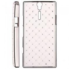Custodia Xperia S - Cover Diamonds Bianco  € 7,99