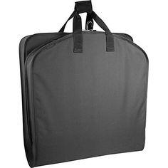 "Wally Bags 40"" Suit Bag - Black Garment Bag NEW #WallyBags #SuitGarmentBag"