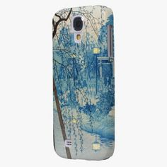 Awesome! This Misty Evening At Shinobazu Pond, Tokyo Kasamatsu Samsung Galaxy S4 Cover is completely customizable and ready to be personalized or purchased as is. It's a perfect gift for you or your friends.