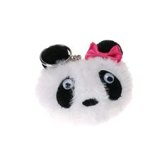 Plush Panda Keyring
