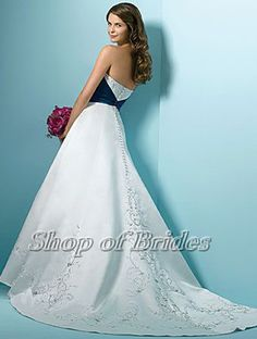 Wedding Dresses With Color 0018