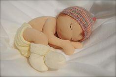 """14"""" baby    Waldorf doll  www.facebook.com/candyflossdolls"""