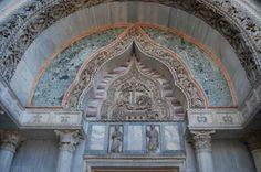 Di vero saprore mediorientale la Porta dei Fiori collocata sul lato nord della Basilica di S.Marco di Venezia