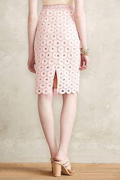 Daisy Eyelet Skirt - anthropologie.com