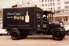 Whiskey Delivery Truck this almost look like a Brinks truck. Precious cargo for sure