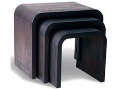 Lounge Dark Oak Nest of 3 Tables £266.00