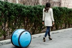 Piaggio introduces Gita personal cargo droid that follows you around