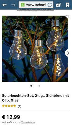 Coole Gartenbeleuchtung!