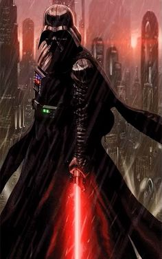 Darth Vader Sith Lord - I've had this image on my computer for a long time and finally got around to animating it. Star Wars Film, Star Wars Fan Art, Star Wars Poster, Star Wars Darth, Anakin Vader, Darth Vader Lightsaber, Darth Vader Video, Darth Yoda, Anakin Skywalker
