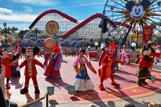 Our overview of Lunar New Year at Disney California Adventure. #disney #lunarnewyear