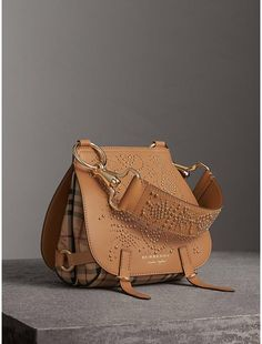 e556c827014a Burberry The Bridle Bag in Fruit and Flowers Riveted Leather.