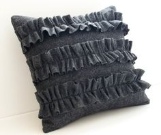 pillows are such and easy thing to sew and such a fun way to make a statement.
