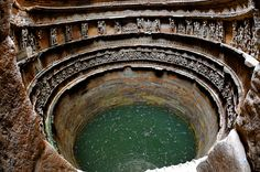 Rani ki vav or Queen's stepwell is a stepwell located in the town Patan , Gujarat in India. The stepwell is located at the banks of Saraswati river. It is declared as one of the UNESCO world heritage sites in Temple Architecture, Ancient Architecture, Vernacular Architecture, Khajuraho Temple, Jain Temple, Valley Of Flowers, Incredible India, World Heritage Sites, Facades
