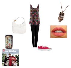 """""""Kiss You!"""" by sooofihitaa ❤ liked on Polyvore featuring Paige Denim, H&M, Vans, NARS Cosmetics, Michael Kors and Samsung"""