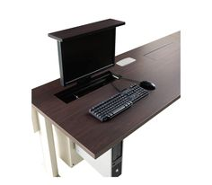 Smart Lift™ for hidden monitor table!
