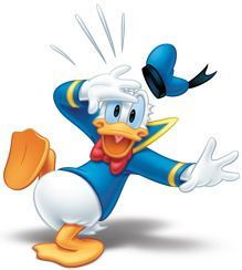 Donald /& Daisy Duck 3D Window Decal Wall Sticker Decor Art Mural Disney J451