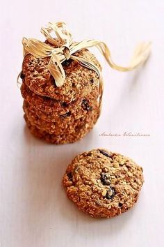 Arabeska : Zdrowe ciastka owsiane Sugar Cake, Muffin, Cookies, Breakfast, Food, Recipes, Crack Crackers, Breakfast Cafe, Muffins