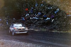 Corris stage of the 1991 RAC Rally