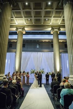 Wedding Ceremony At The Columns Memphis Weddings Southern Event Planners Photo By Kevin