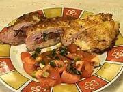 Plnená mäsová kapsa - recept na bravčové rezne s parmezánom