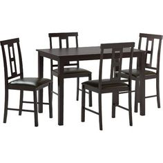 Look What I Found On Wayfair Modern Dining TableOak Table5 Piece