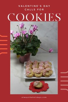 This tasty and easy Valentine's day recipe uses store bought sugar cookies and crushed peppermints for a sweet and crunchy cookie that is perfect to share with your loved ones. #valentinesday #cookies #peppermints Sugar Cookies With Sprinkles, Sprinkle Cookies, Easy Sugar Cookies, Sugar Cookies Recipe, Cookie Recipes, Chocolate Melting Wafers, Chocolate Peppermint Cookies, Chocolate Topping, Vegetarian Cookies