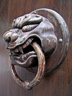 Chinese door knocker - Hongfu temple