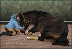 TWD - Road Trip by Zoubstance on DeviantArt Ride Drawing, Horse Animation, Star Stable, Horse Names, Riding Lessons, All About Horses, Horse Drawings, Wild Ones, Horse Art