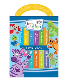 Look at this Baby Einstein: Let's Learn Board Book Set on #zulily today!