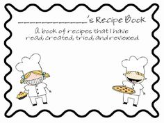 recipe writing freebie - Re-pinned by @PediaStaff – Please Visit http://ht.ly/63sNt for all our pediatric therapy pins