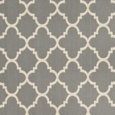 @Overstock - This outdoor rug has a brown background and displays stunning panel color of natural. This power-loomed rug is resistant to mold, mildew, sun, water and other elements.http://www.overstock.com/Home-Garden/Poolside-Anthracite-Beige-Indoor-Outdoor-Rug-4-x-57/6551539/product.html?CID=214117 $51.29