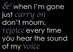 Eminem-when I'm gone...one of my favorite songs ever. Em is a lyrical genius & he has the same nickname my friends call me:)
