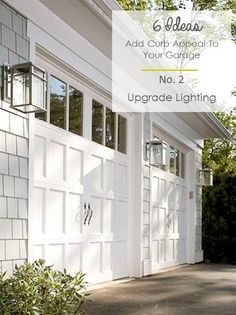 6 Ideas to Add Curb Appeal to Garages My She Shed Project with The Home Depot Pretty Passport Covers Microwave Free Kitchens