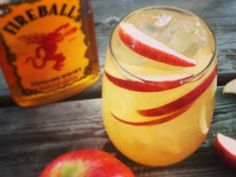 Enjoy these sweet and fiery Fireball Cider Cocktail recipes made from apple cider and Fireball cinnamon whiskey. Perfect drinks for summertime or fall!