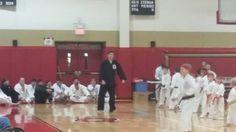 Dec 2014 Shiai- Head Instructor Mr. Hopler calls out low block