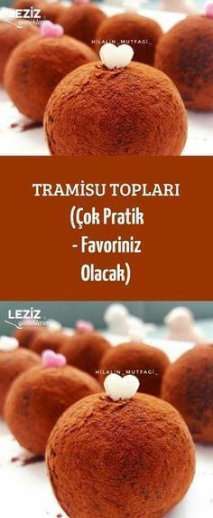 Tramisu Topları (Çok Pratik - Favoriniz Olacak) France is an independent nation in Western Europe and the biggest market of a large overseas administration Delicious Cake Recipes, Yummy Cakes, Dessert Recipes, Yummy Food, Cake Cookies, Cupcakes, Mousse Au Chocolat Torte, Pasta Cake, Recipe Mix