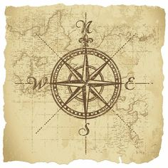 Image result for tattoo compass map