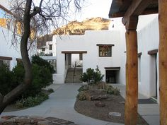 Indian Lodge in Davis Mountains State Park outside Fort Davis, TX is a destination in itself.