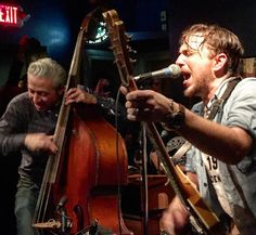 JD McPherson and Band at the Abilene Rochester - Photo by Jen Stanchfield
