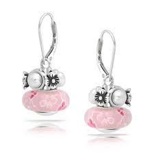 Image result for pandora earrings pearl