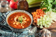 Minestrone Jeroen Meus Chana Masala, Curry, Ethnic Recipes, Food, Curries, Meals, Yemek, Eten