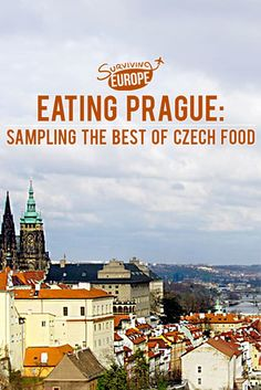 What is traditional Czech food? Before our trip to Prague, we really had no idea! UNTIL we embarked on a delicious (and educational) eating adventure... @eatingprague #foodtour