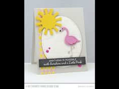 ▶ Cross-Stitch Oval STAX Die-namics from My Favorite Things - YouTube #mftstamps