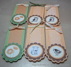Magnetic Bookmarks made with Two Tags Die.