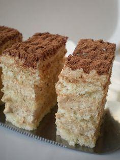 Prajitura cu ness | Retete Culinare - Bucataresele Vesele Romanian Desserts, Food Cakes, Cheesecakes, Just Desserts, Vanilla Cake, Cake Recipes, Caramel, Good Food, Food And Drink