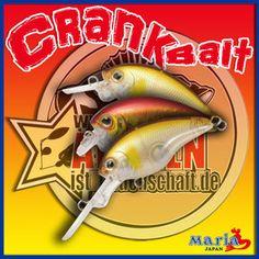 Crank Baits von Maria Japan mit Farbtaffel ( Color Chart Maria MC-1 Serie von WFT