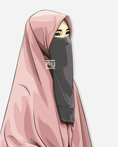 Kumpulan Kata Muslimah Memotivasi Outfit Essentials, Hijabi Girl, Girl Hijab, Muslim Girls, Muslim Women, Vector Character, Portrait Vector, Hijab Dress Party, Hijab Outfit